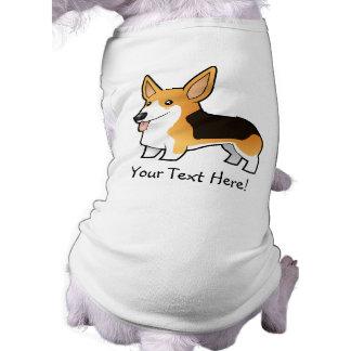 Cartoon Pembroke Welsh Corgi Pet Clothing