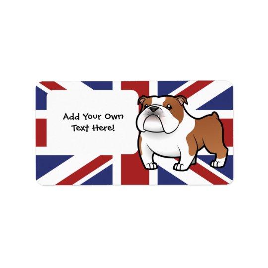 Cartoon Pet with Flag