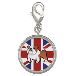 Cartoon Pet with Flag Charms