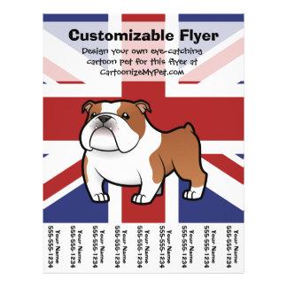 Cartoon Pet with Flag Custom Flyer