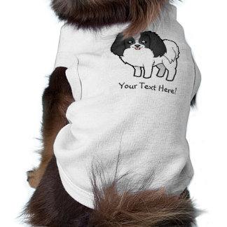 Cartoon Phalene / Japanese Chin Dog Tee Shirt