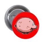 Cartoon Pig Button