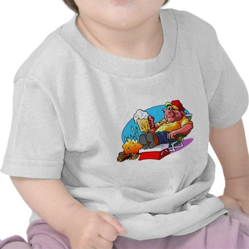 Cartoon Pig Roast Shirts