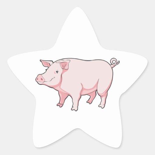 Cartoon Pig Sticker