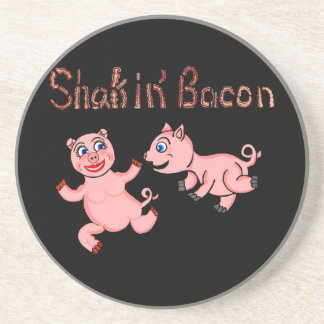 Cartoon Pigs Drink Coaster