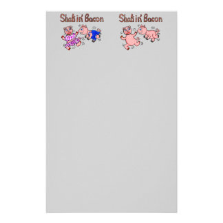 Cartoon Pigs Stationery