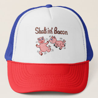 Cartoon Pigs Trucker Hat