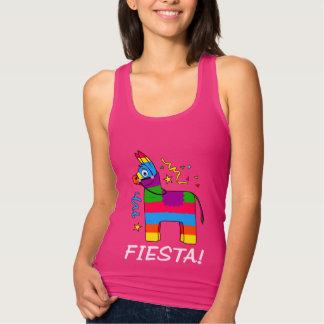 Cartoon Piñata Fiesta! Tank Top