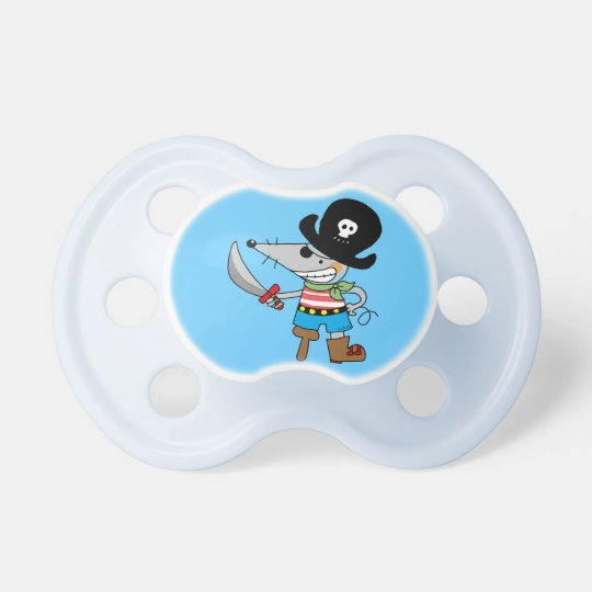 cartoon pirate baby pacifiers
