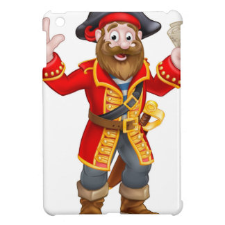 Cartoon Pirate Holding Map iPad Mini Case