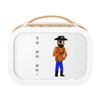 Cartoon Pirate Lunch Box