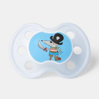 cartoon pirate pacifier