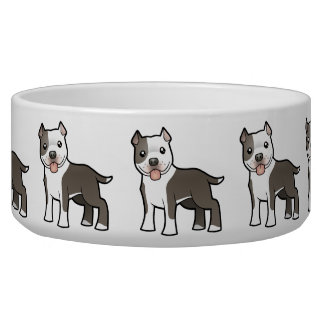 Cartoon Pitbull / American Staffordshire Terrier