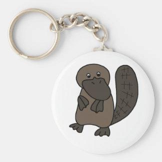 Cartoon Platypus Keychain