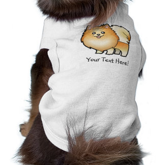 Cartoon Pomeranian Pet Shirt