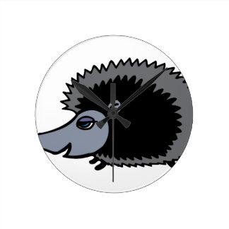Cartoon Porcupine Wallclock