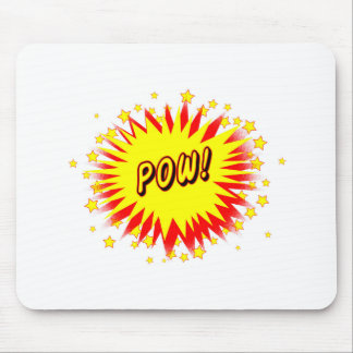 Cartoon Pow Mouse Pad