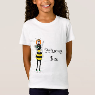 Cartoon Princess Bee T-Shirt