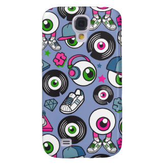CARTOON PSYCHEDELIC EYEBALL DJ Headphones & Kicks