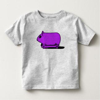 Cartoon Purple Guinea Pig Hamster T-Shirt