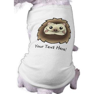 Cartoon Pygmy Hedgehog Pet Tee