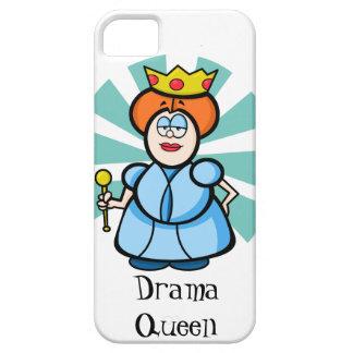 """Cartoon Queen """"Drama Queen"""" iPhone 5 Case"""