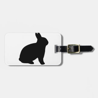 cartoon rabbit bag tag