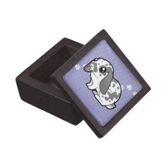Cartoon Rabbit (floppy ear smooth hair) Premium Gift Box