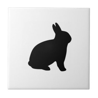 cartoon rabbit tile