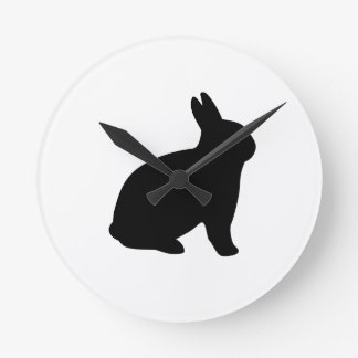 cartoon rabbit wall clocks