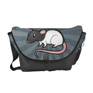 Cartoon Rat Courier Bag