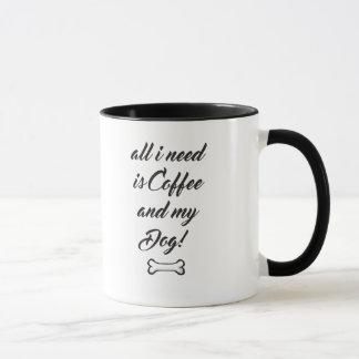 Cartoon Rat Terrier Coffee Mug