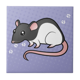 Cartoon Rat Tile