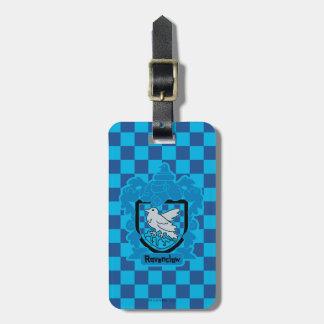Cartoon Ravenclaw Crest Luggage Tag