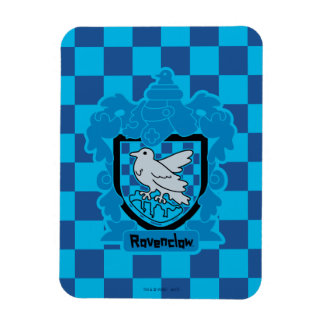 Cartoon Ravenclaw Crest Magnet