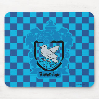 Cartoon Ravenclaw Crest Mouse Pad