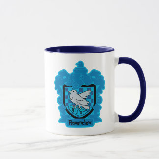 Cartoon Ravenclaw Crest Mug