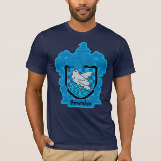 Cartoon Ravenclaw Crest T-Shirt