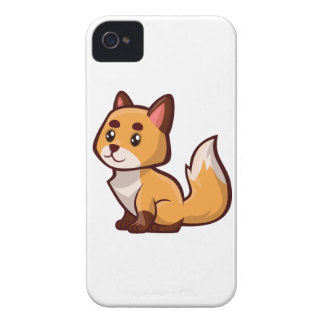 Cartoon Red Fox iPhone 4 Cover