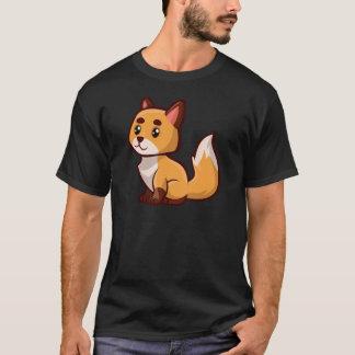 Cartoon Red Fox T-Shirt