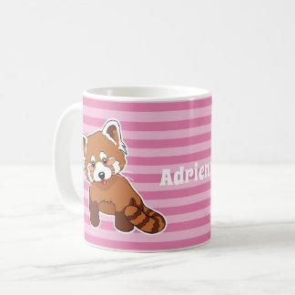 Cartoon Red Panda Coffee Mug