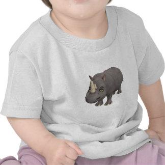 Cartoon Rhino T-shirt