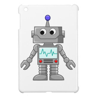 Cartoon Robot iPad Mini Covers