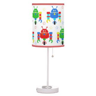 Cartoon Robots Table Lamp