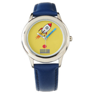 Cartoon rocket watch