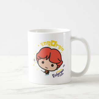 Cartoon Ron Weasley Engorgio Spell Coffee Mug