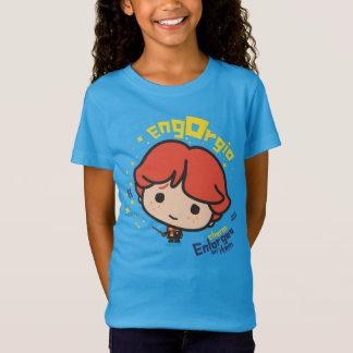 Cartoon Ron Weasley Engorgio Spell T-Shirt