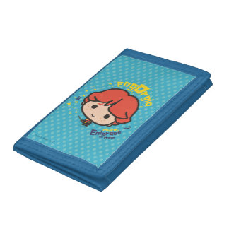 Cartoon Ron Weasley Engorgio Spell Trifold Wallets