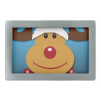Cartoon Rudolph The Reindeer Christmas Gifts Belt Buckles