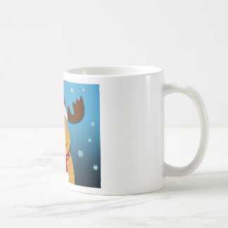 Cartoon Rudolph The Reindeer Christmas Gifts Coffee Mug